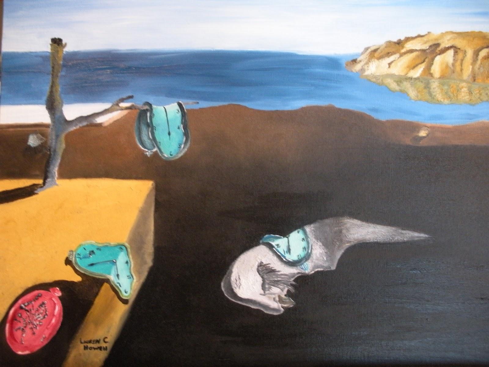 Saw Palmetto The Persistance Of Memory Salvador Dali Copy
