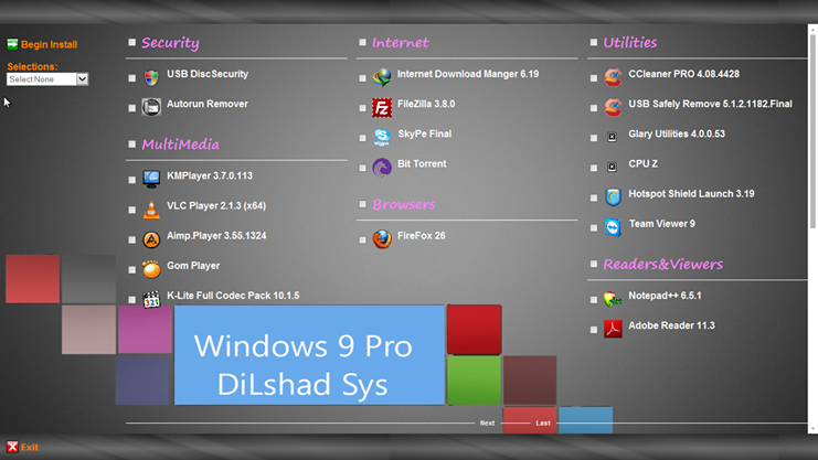 Windows 9 First Look of Feature, Design, Apps