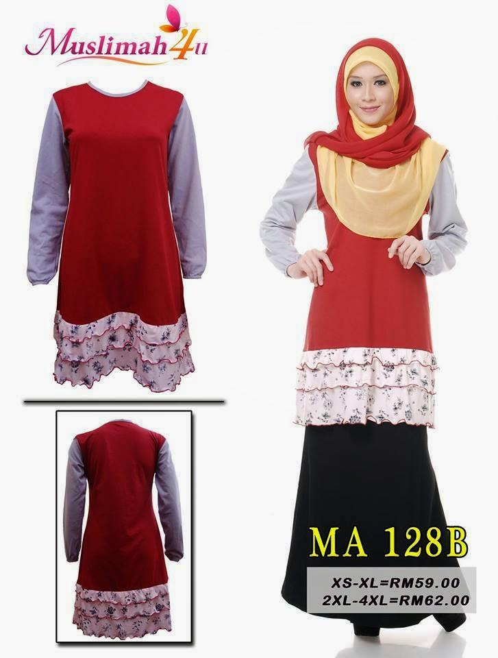 T-shirt-Muslimah4u-MA128B