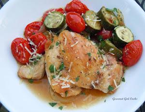 Simple Roast Chicken Rustica