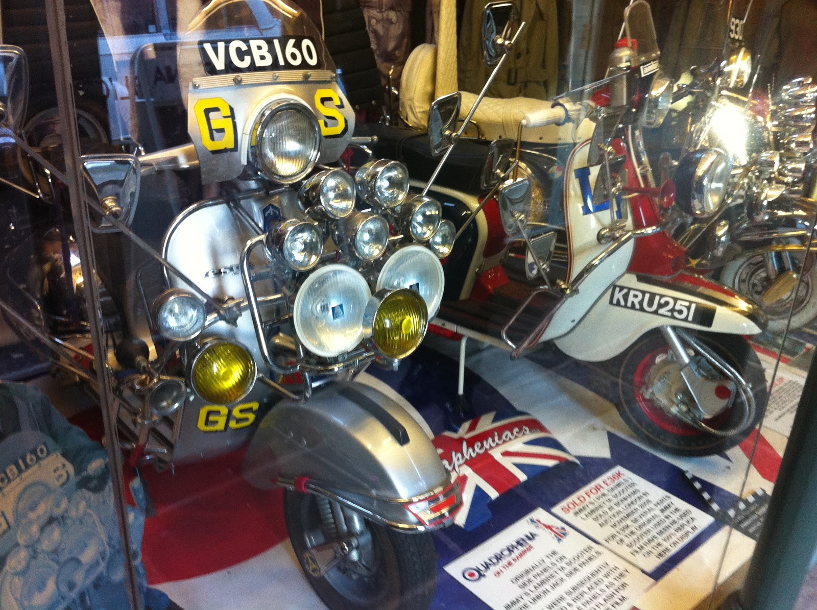 The Vintagent: 'QUADROPHENIA' SCOOTER SELLS FOR £36,000