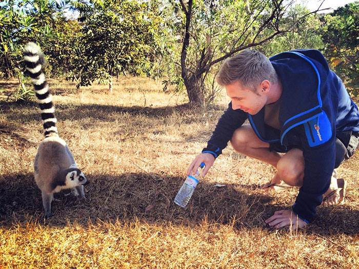 johnny ward iubeste animalele
