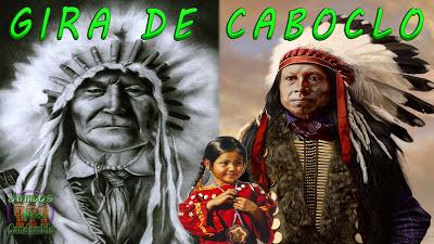Os Caboclos e Caboclas