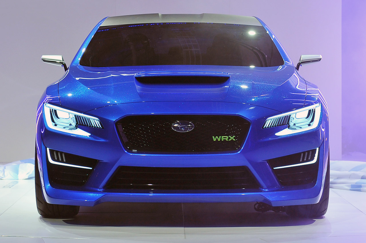 Front view of Subaru WRX Concept. (Picture from: http://www ...