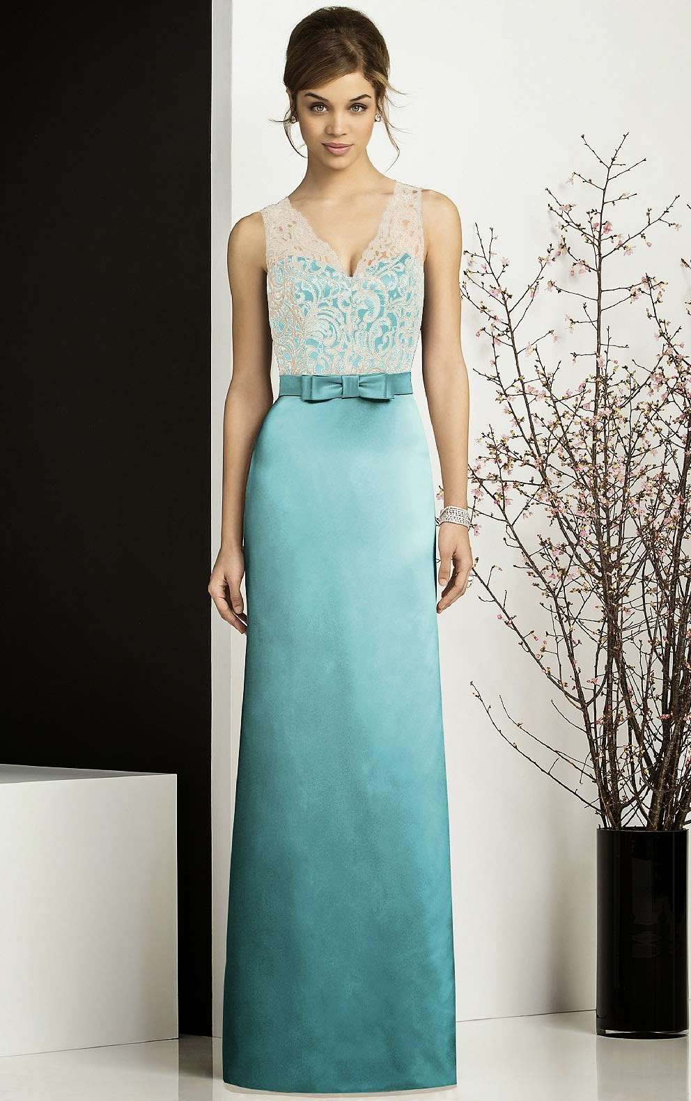 Nice After Six Bridesmaid Dress 6644 Ornament - Wedding Dress Ideas ...