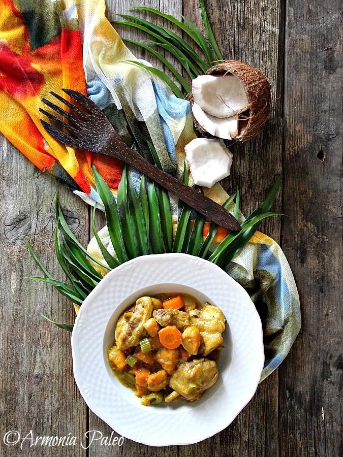Samoan Chicken Kale Moa - Pollo alla Samoana di Armonia Paleo