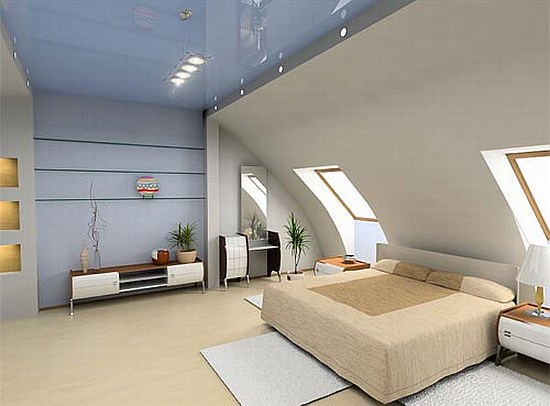 Turning an attic into a bedroom