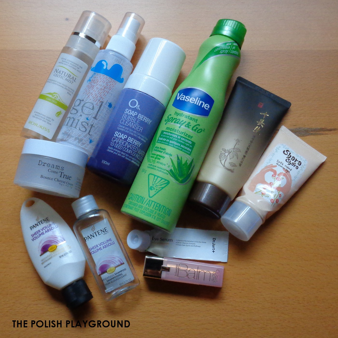 January 2015 Product Empties