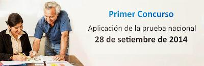 Resultados 1er examen concurso de reubicación docente domingo 28 Septiembre 2014.