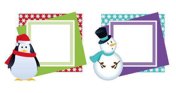 Tarjetas de navidad: 5 tarjetas de navidad