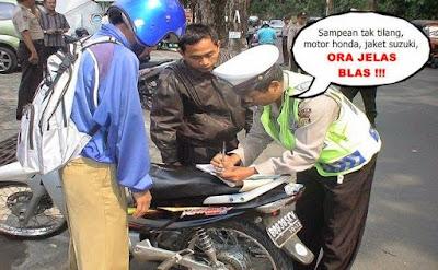 Foto Meme Kocak Pak polisi Nggak jelas!
