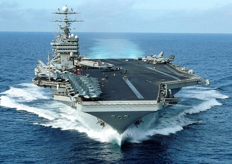The united states navy aircraft carrier uss george washington will be