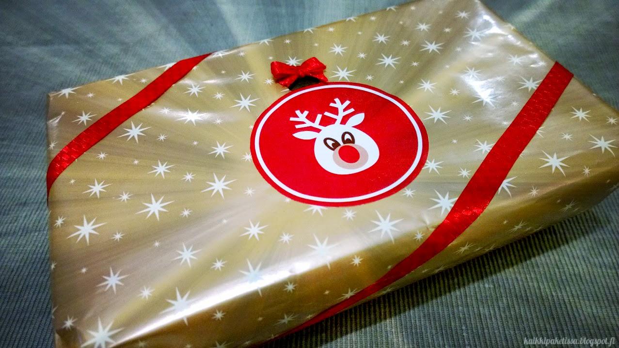 Kaikki Paketissa joululahja hyväntekeväisyyteen