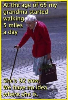 Exercise in the Elderly Important