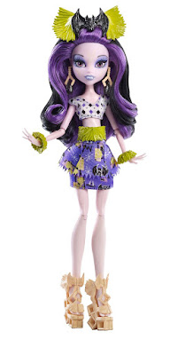 TOYS : JUGUETES - MONSTER HIGH Ghoul's Getaway - Elissabat | Doll - Muñeca Producto Oficial | Mattel DKY00 | A partir de 6 años Comprar en Amazon España & buy Amazon USA