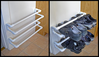 Floating Shoe Rack