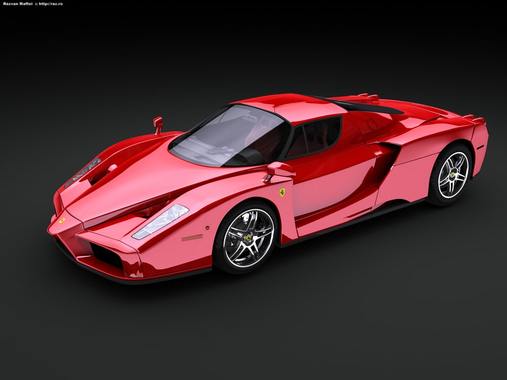 Ferrari Enzo Automotive Cars (3)