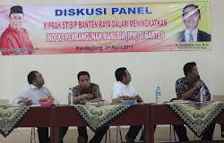 Diskusi Panel tentang IPM Banten