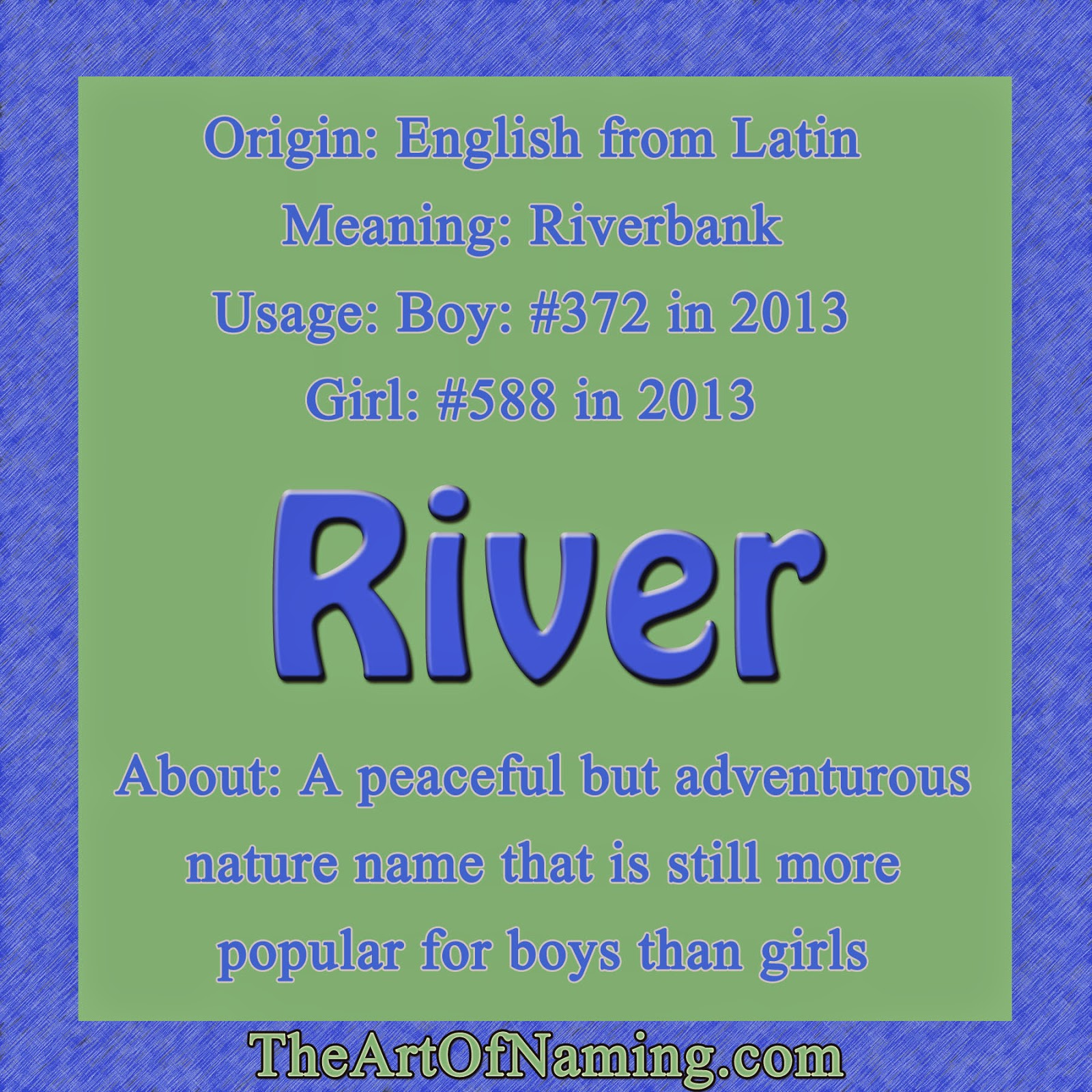 Of Course River Comes From The English Word That Refers To A Flowing Body Water Many People Enjoy Rafting Down During Summer Or Camping