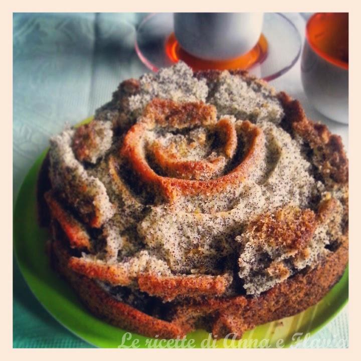 torta agli agrumi e semi di papavero