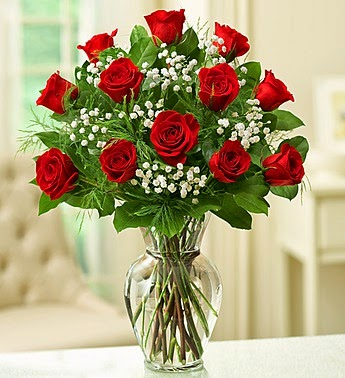 One Dozen red roses price