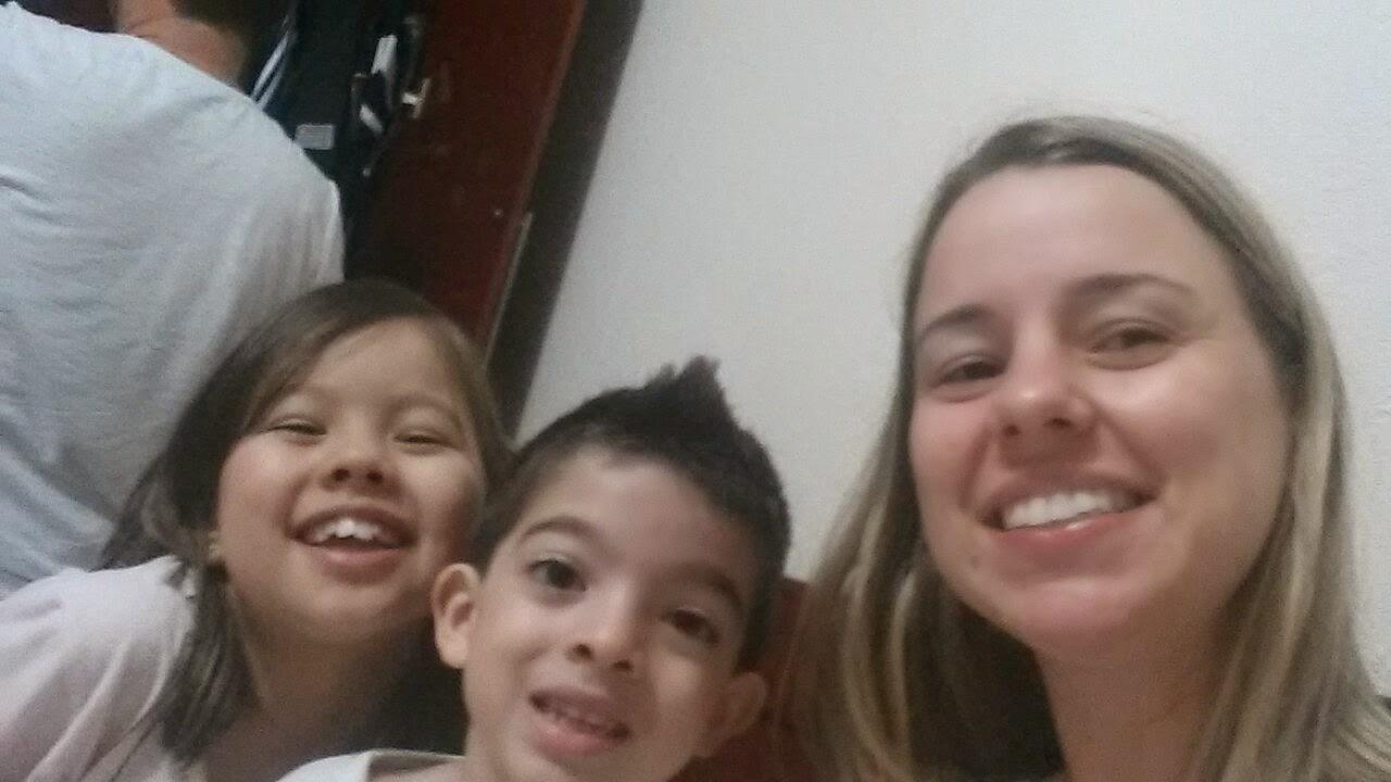 Selfie em família