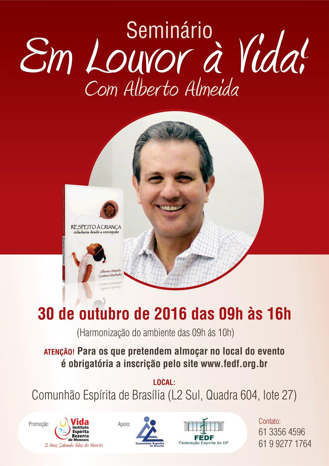 Alberto Almeida na Comunhão