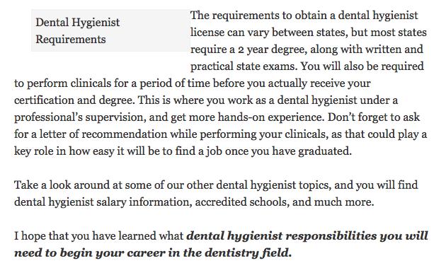 how to find dental hygiene jobs