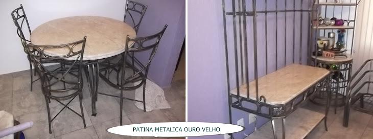 PATINA METALICA OURO VELHO