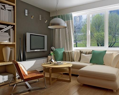 Bricolage e Decora??o 18 Ideias para Decorar Salas Pequenas!