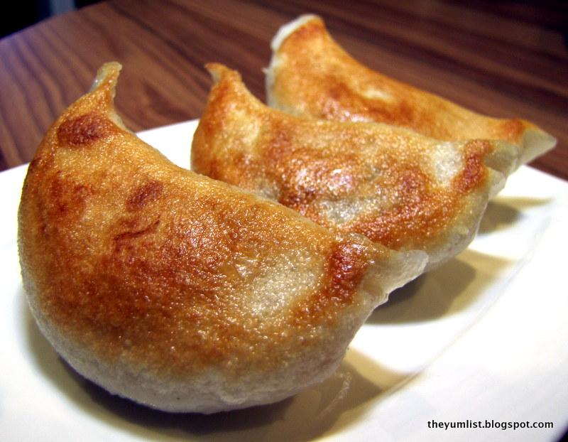 Pan-fried Pork Dumplings, 3 pieces RM8.80