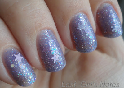 whimsical ideas by pam I believe in fairies nail polish  swatches