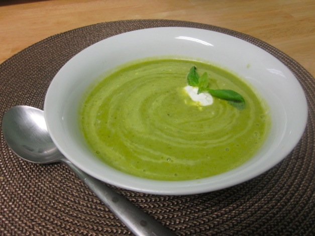 суп из свежего горошка рецепт