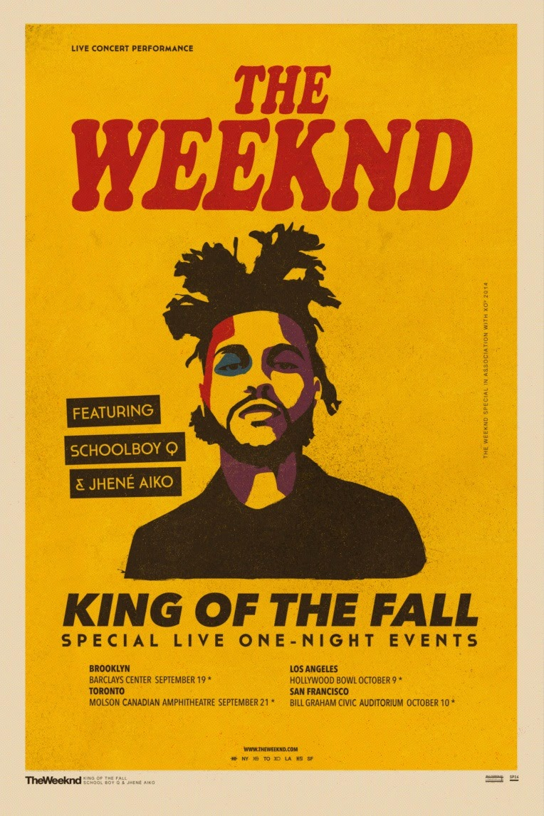 The Weeknd Exclusive Show Dates This Fall