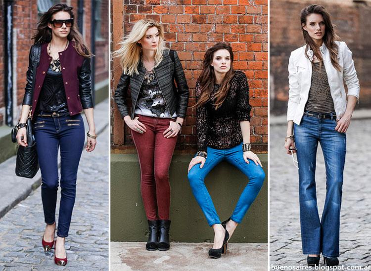 Moda Jeans otoño invierno 2014. Markova otoño invierno 2014.