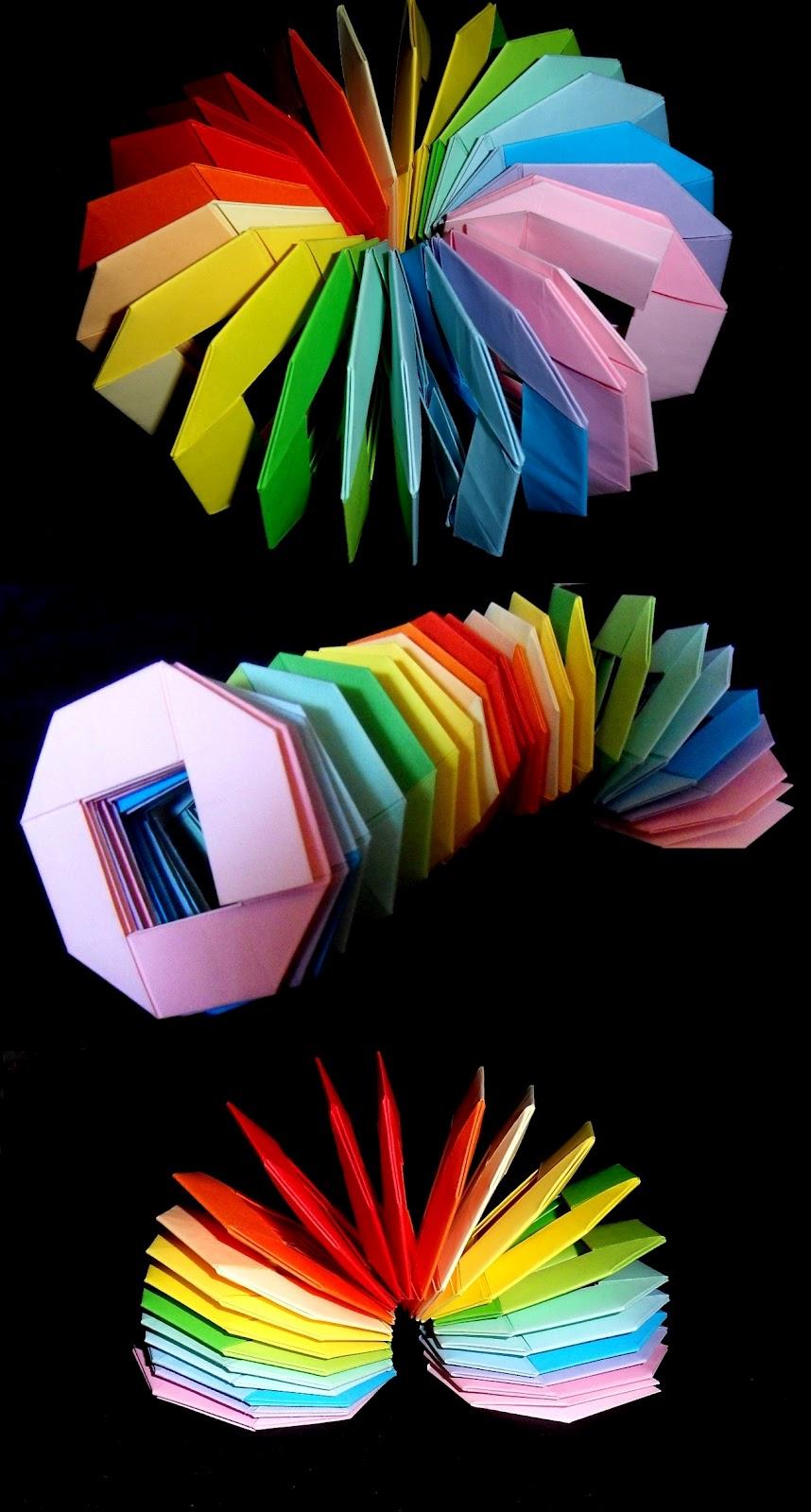 оригами, модулно оригами, фигури от хартия, играчки, Неферет
