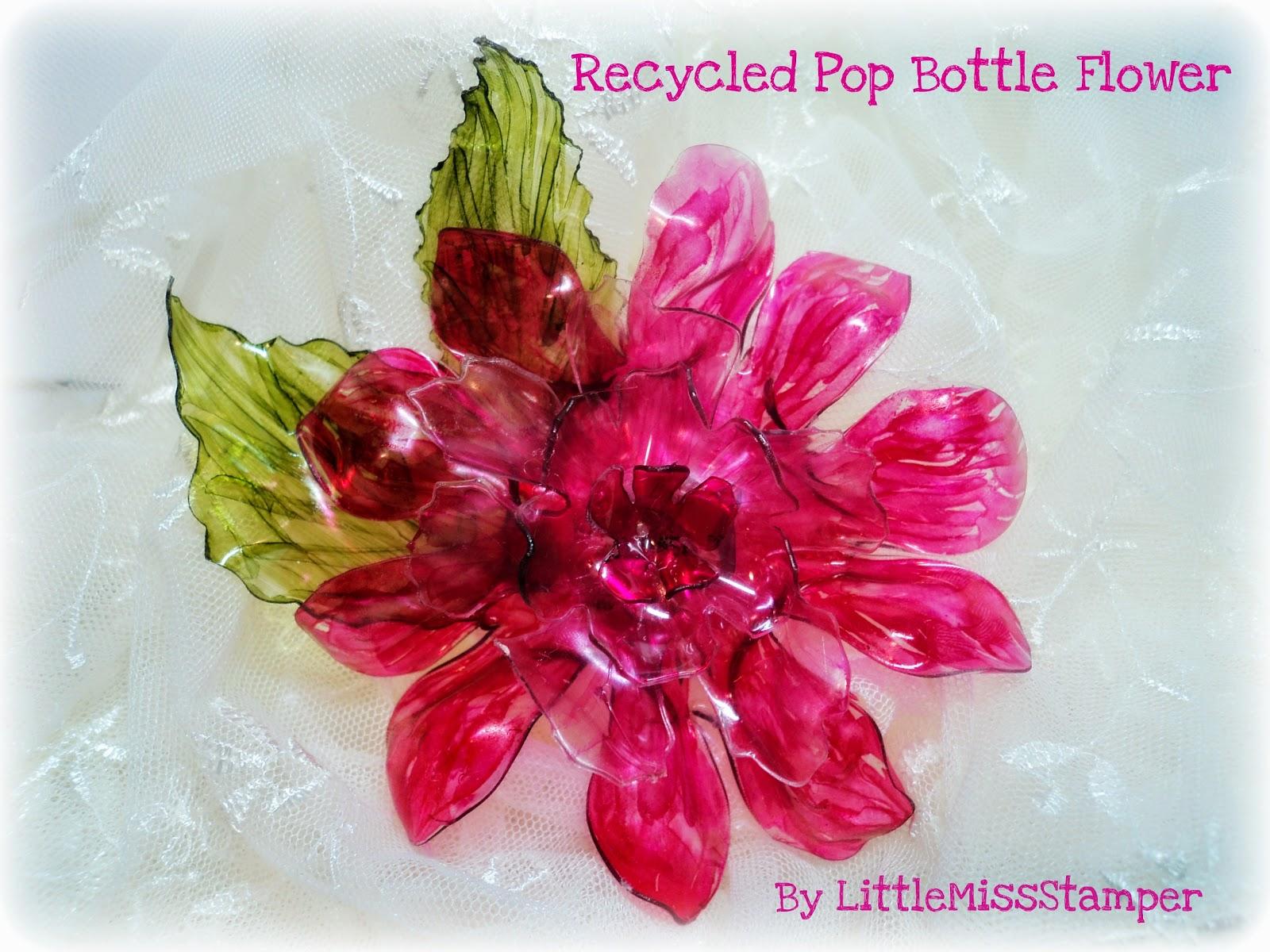 Поделка из бутылок пластиковых роза