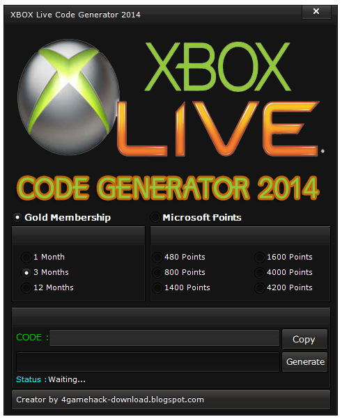 free xbox live generator download no surveys