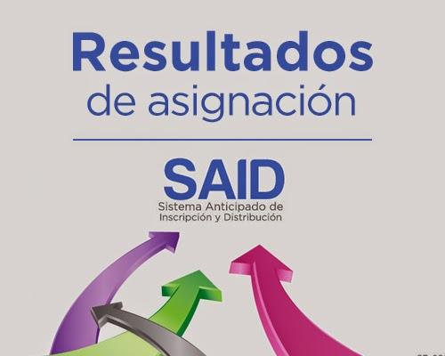 SAID Resultados preescolar, primaria y secundaria 2014-2015 ...
