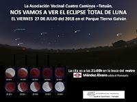 Nos vamos a ver el eclipse total de luna