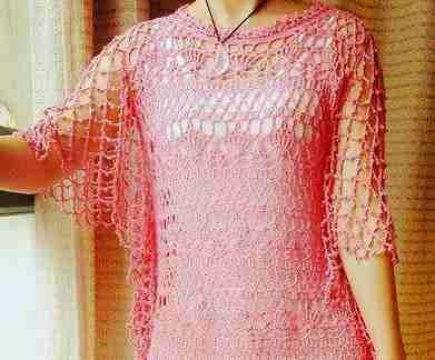 Blusa Calada a Crochet