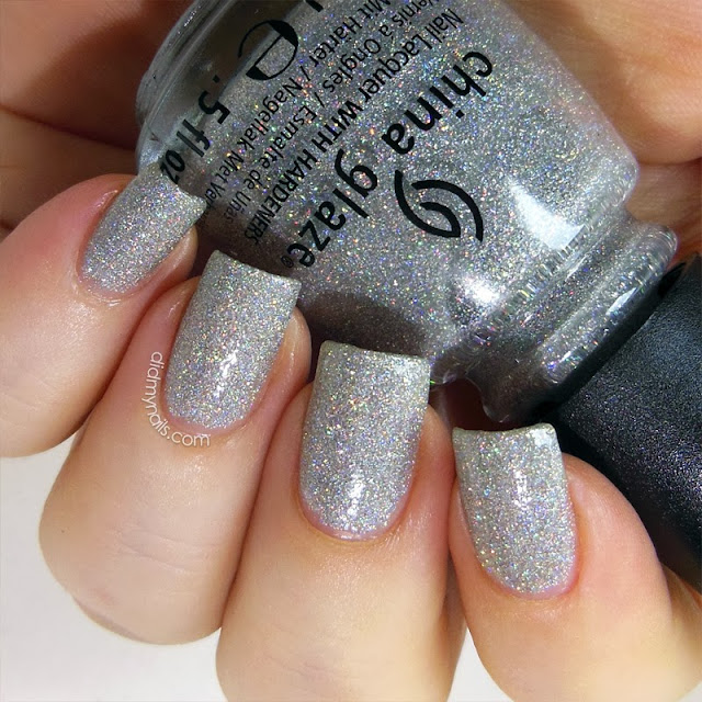 China Glaze Glistening Snow swatch