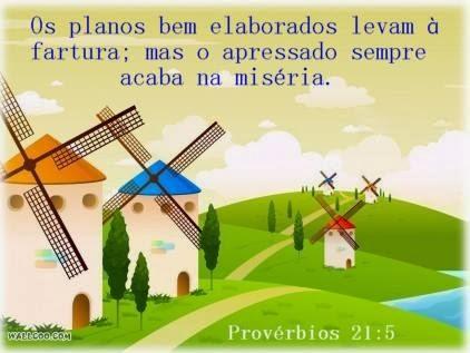 Provérbios 21:5
