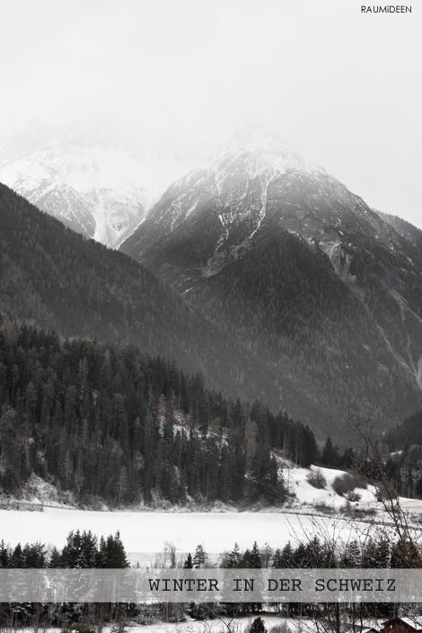 Winterlandschaft - verschneite Berge und Täler!