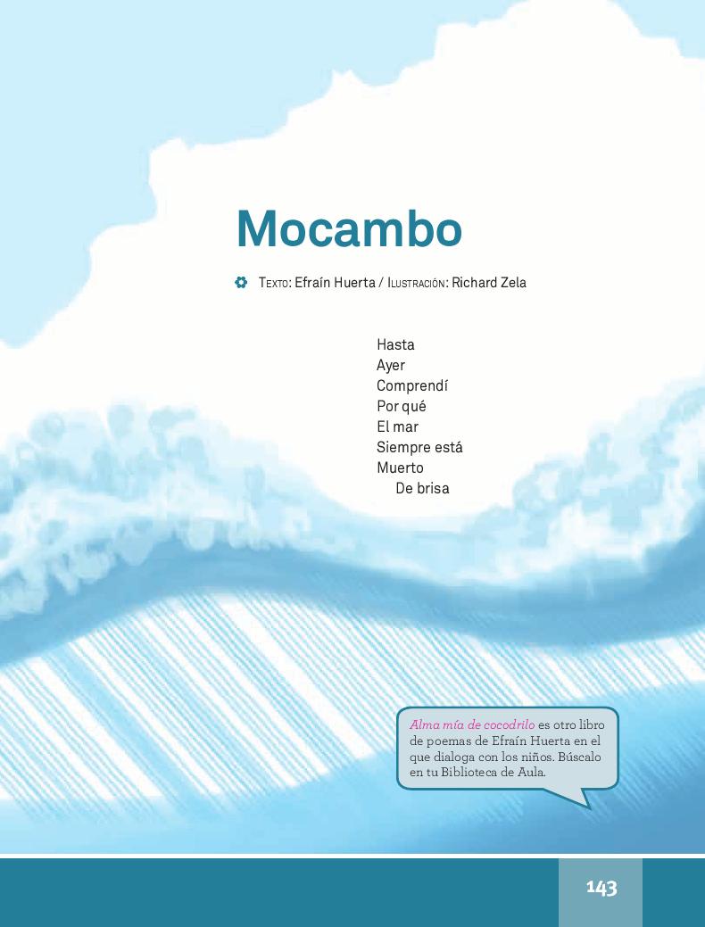 Mocambo - Español Lecturas 4to 2014-2015