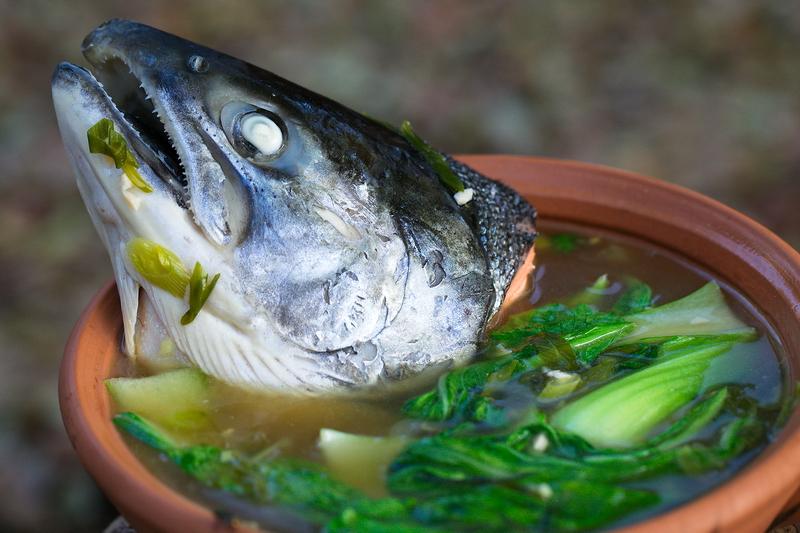 Kitoi 39 s ancestral kitchen filipino fish head soup for Salt fish head