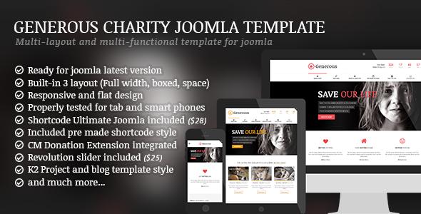 Best New Premium Joomla Template