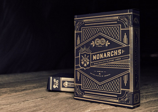 Highly-styled Monarch Playing Cards Seen On www.coolpicturegallery.us