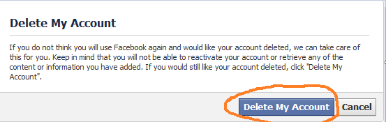 How to delete facebook account permanently simple steps news delete facebook account permanently ccuart Images