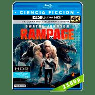 Rampage: Devastación (2018) 4K UHD Audio Dual Latino-Ingles